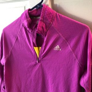 Adidas ClimaWarm running pullover, size M